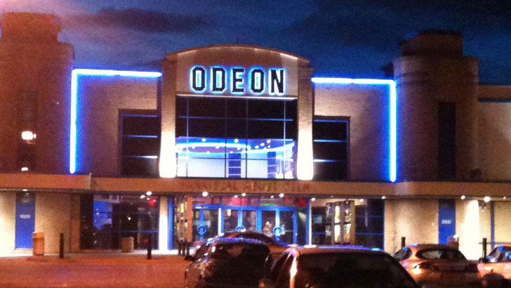 blackpool odeon cinemas autos post