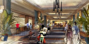 New Disney hotel at Disneyland California