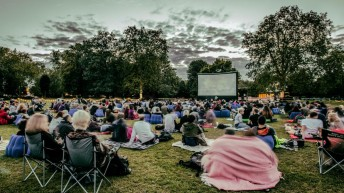 Outdoor cinema spreads sunshine in London and beyond