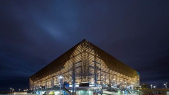 Olympic Arena designed to be recycled into schools
