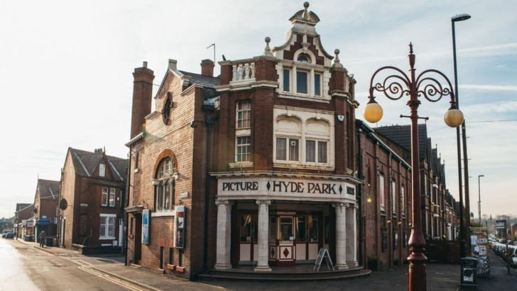 Captain Kirk's local and the UK's only surviving gas-lit cinema
