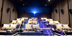 The first cosy cinema in Ho Chi Minh City, Vietnam