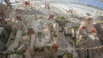 Adventure park opens in Bucharest's largest shopping mall