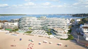 Sandbanks multi million pound developments