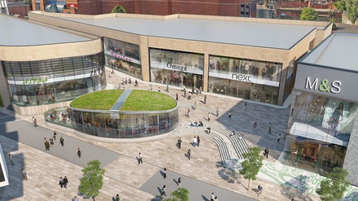 Rochdale riverside shopping and cinema developments