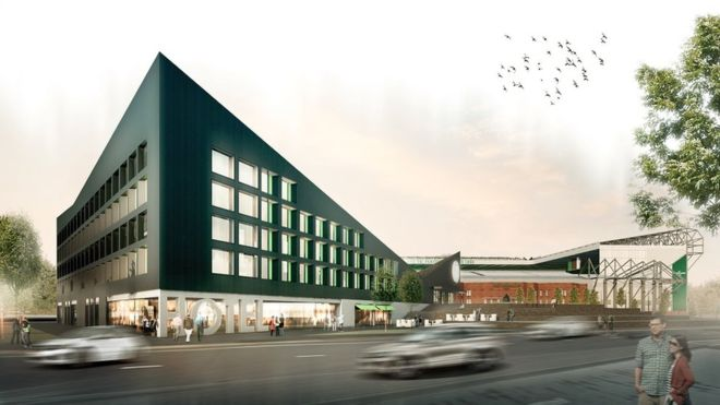 Celtic football kicks off with hotel and museum plans