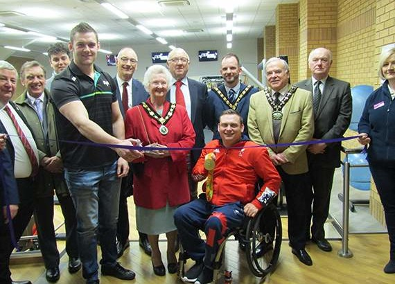 State of the art gym replaces 10 pin bowling in Brecon Leisure Centre