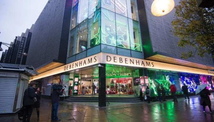 Debenhams to invest in restaurants and beauty services