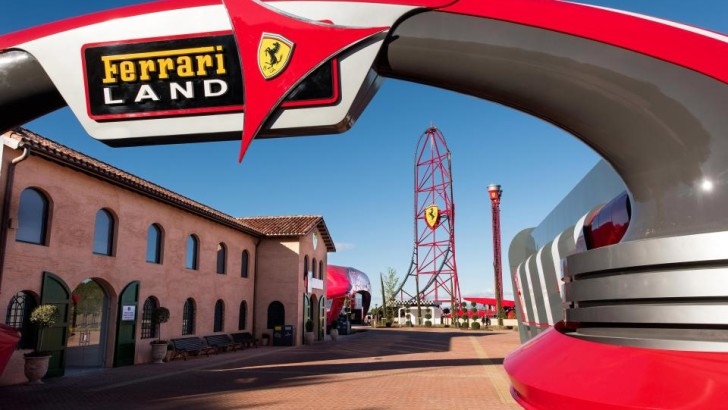Ferrari Red Force – fastest and tallest rollercoaster in Europe opens in Spain