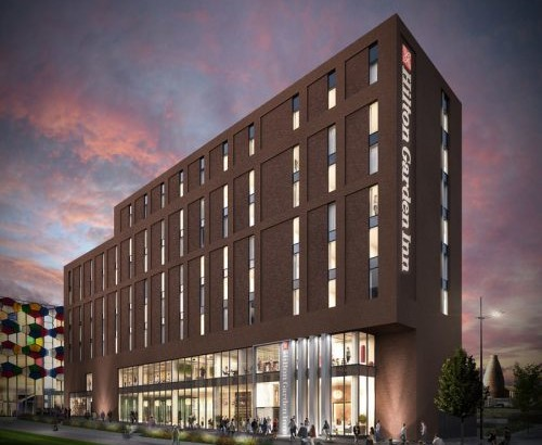 Hilton Hotel for Hanley supports Stoke's 2021 City of Culture hopes
