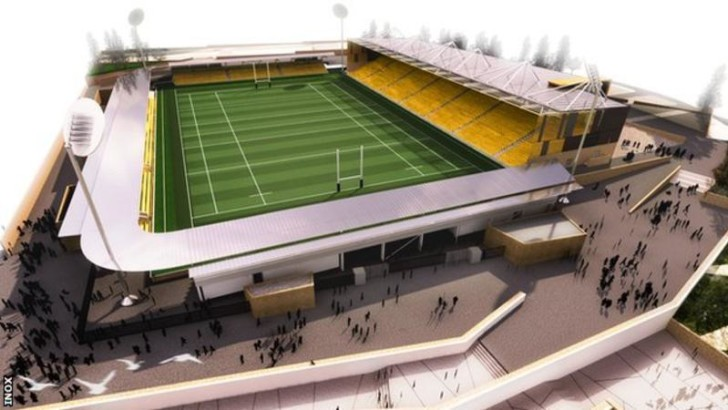 Cornwall football and rugby united for new stadium