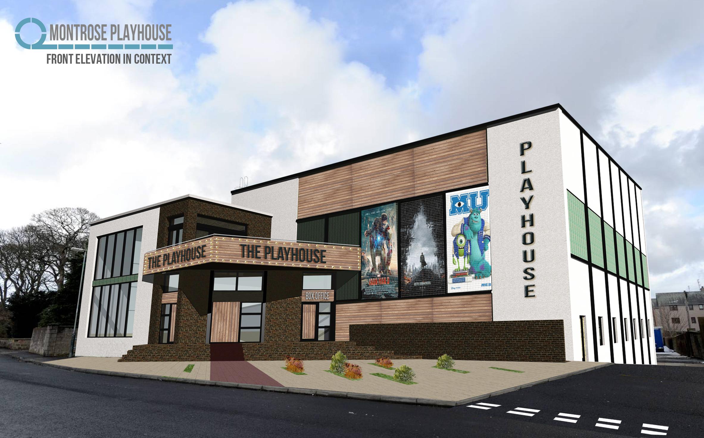 Front Elevation Theatre : Montrose cinema needs your vote ozseeker