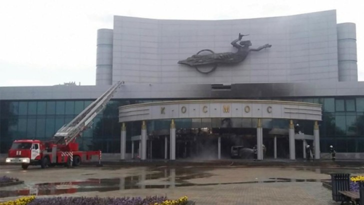 Van With Explosives Crashes Into Cinema to Protest Tsar Biopic