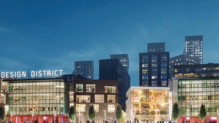 Plans unveiled for London's first purpose-built design district
