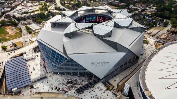Video: Mercedes-Benz Stadium rated most sustainable in the world