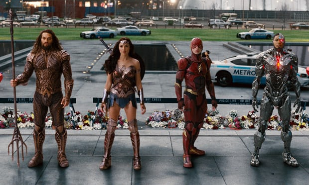 Justice League lays down the law at top of the UK box office